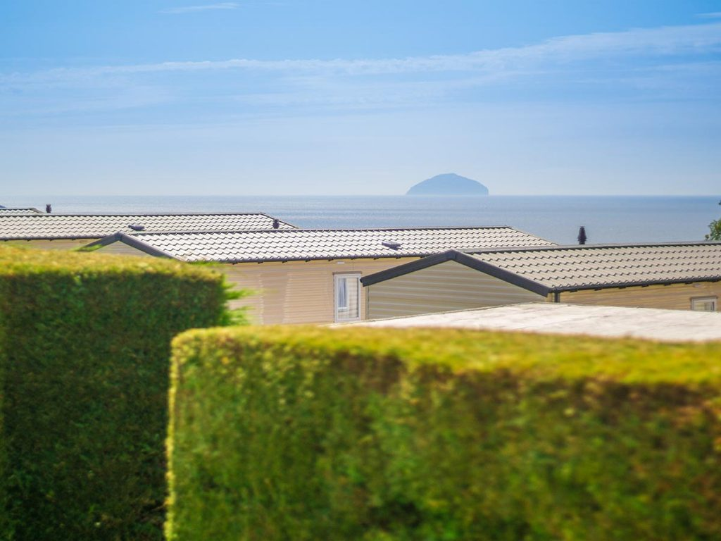 Culzean Bay views to ailsa craig